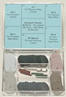 Pacific Abrasives Lab Kit. Complete Polishing kit for porcelain and metals (48 pieces per kit)