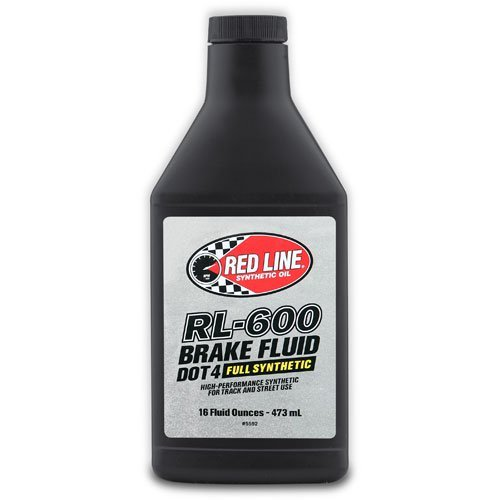 Red Line 90402 Rl-600 Brake Fluid, 16 Ounce, 1 Pack by Red Line Oil