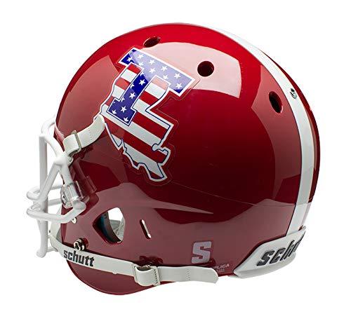 - Schutt NCAA Louisiana Tech Bulldogs Replica XP Football Helmet, Scarlet Alt. 1