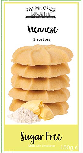 Farmhouse Biscuits – Sugar Free Viennese Shorties 150g (3 Pack)