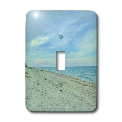 3dRose LLC lsp_25255_1 Smell The Ocean Breeze, Single Toggle Switch