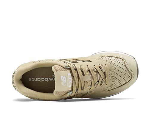 Beige white Donna Nbwl574mon New Balance Sneaker w7qvxag