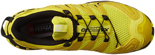 Salomon L39071600, Zapatillas de Trail Running para Hombre Amarillo (Corona Yellow /     Alpha Yellow /     Black)