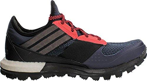 Adidas Performance Boost de respuesta Tr W zapatos corrientes, universitarios Azul marino / negro / Midnight Grey/Black/Flash Red