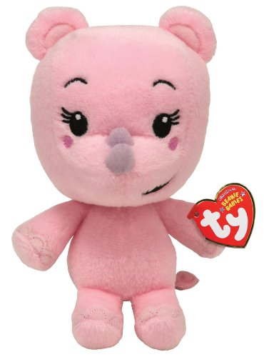 Ty Beanie Baby - Lulu - Ni Hao Kai Lan - Rhino