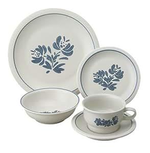 Amazon.com | Pfaltzgraff Yorktowne 20-Piece Dinnerware Set, Service ...