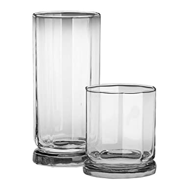 Anchor Hocking Sweetbrier 16-Piece Crystal Glassware Set