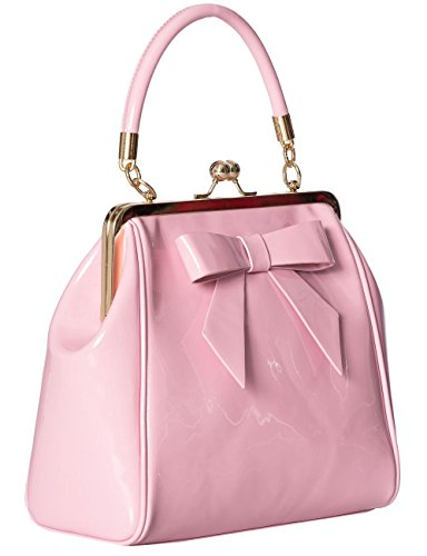 Handbag Pink Banned Rockabilly Vintage American Apparel 50s Shiny cwwv7CqY