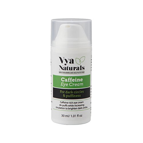 Vya Naturals Caffeine Under Eye Cream With Green Coffee