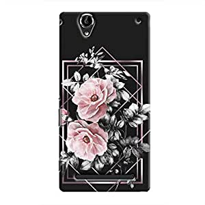 Cover It Up - Framed Flowers Xperia T2 Ultra Hard Case
