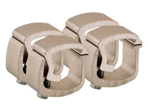 API AC101 Mounting Clamps for Truck Caps / Camper Shells (4 Pack)