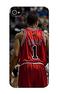 Honeyhoney Faddish Phone Sports Nba Basketball Backview Derrick Rose Depth Of Field Chicago Bulls Case For Iphone 6 4.7 / Perfect Case Cover