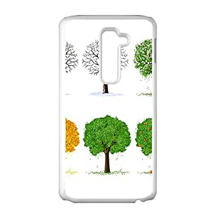 The Love Trees Hight Quality Plastic Case for LG G2
