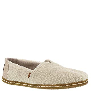 TOMS Natural Plush Shearling Women's Classics Slip-On Shoes (7.5 B US) (B078VDBH9G) | Amazon price tracker / tracking, Amazon price history charts, Amazon price watches, Amazon price drop alerts