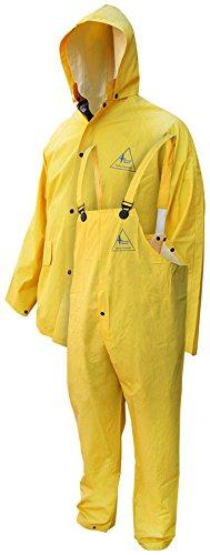 Bob Dale Gloves 951901FRX4L Rain Suit Flame Resistant PVC...