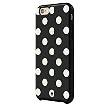kate spade new york iPhone 6s Plus Case [Shock Absorbing] fits both iPhone 6 Plus, iPhone 6s Plus- Le Pavillion Black / Cream