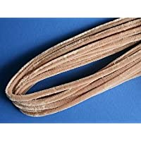 10 Beige Extra Long & Thick Craft Pipe Cleaners | Chenille Stems