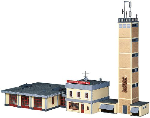 Faller 130989 Fire Station Complex HO Scale Building Kit