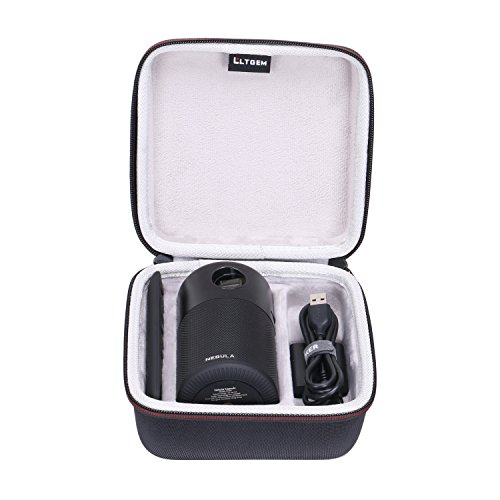LTGEM EVA Hard Case for Nebula Capsule Smart Mini Projector - Travel Protective Carrying Storage Bag from LTGEM