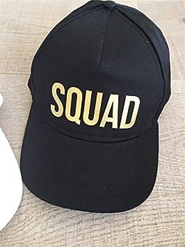 KIJQ Gorra De Beisbol Moda Oro Impreso Estilo Clásico Sombreros ...
