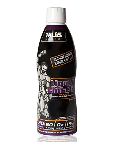 ChiselR || Liquid Protein NON-Dairy, Sugar Free, 30 servings (Bold Berry)
