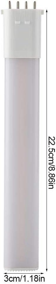 8W ROBTLE 4 Pin Light Bulb 2GX7 LED Light Bulb White Light Lamp Tube AC 180-240V Horizontal Plug Natural White
