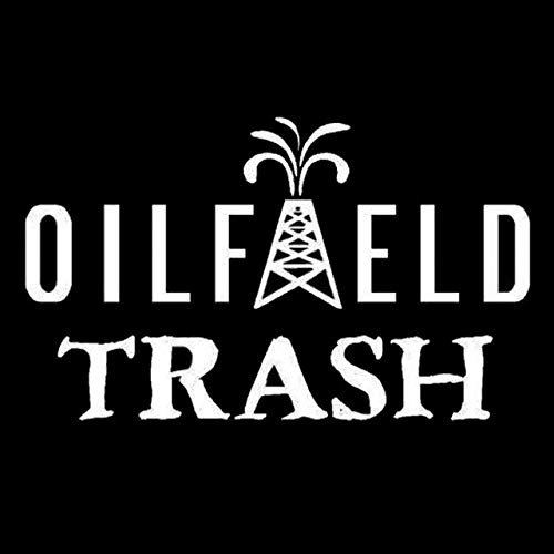 Oil 1545 - DECAL-STYLE - 13cmx8cm Personalized Funny Oilfield Trash Window Vinyl Stickers C5-1545
