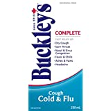 Buckley's Complete Cough Cold and Flu Syrup, 250ml