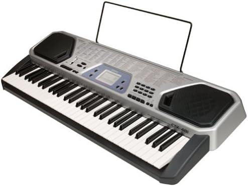Casio CTK 481 AD 5-octave Teclado de tamaño completo con ...
