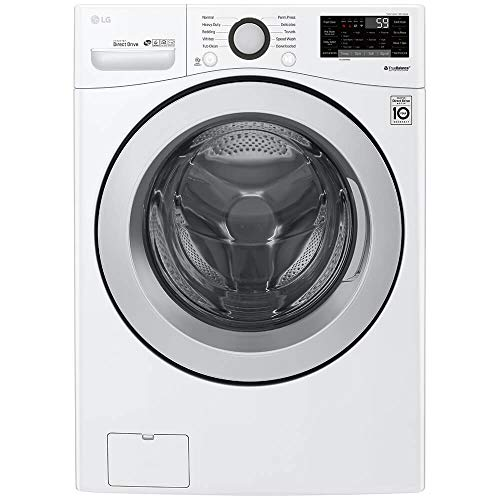 LG WM3500CW 4.5 Cu. Ft. White Front Load Washer (Best Lg Front Load Washer)