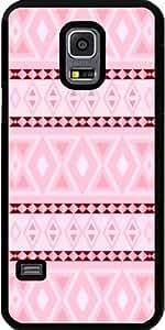 Case for Samsung Galaxy S5 Mini - Fancy Tribal Pattern LEO pink