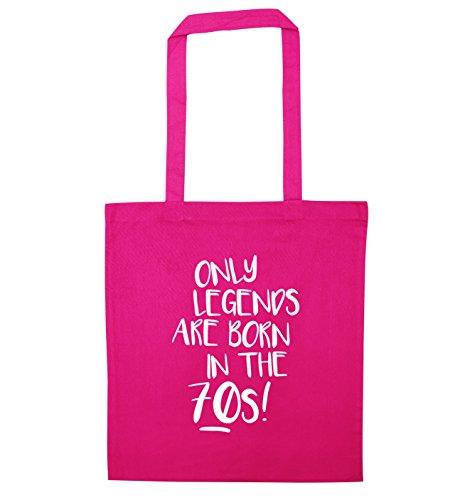 Legends The Pink Sólo 70s Only En Los Are 70 Rosa Mano Born Color Bolso Bag Nacen In Años Tote Leyendas De De wFIqdI