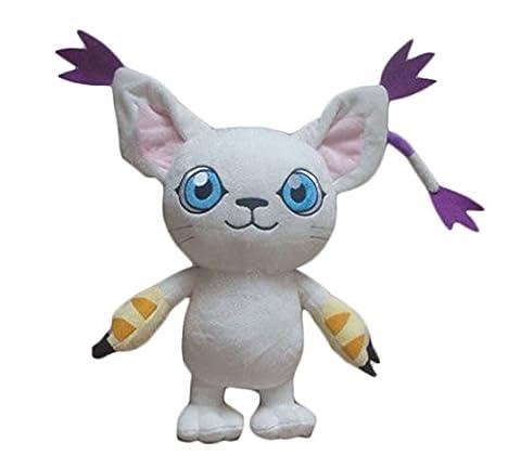 Life Star Cute Digimon Tailmon Plush Dolls Toys Kids Gift (Digimon Tailmon)