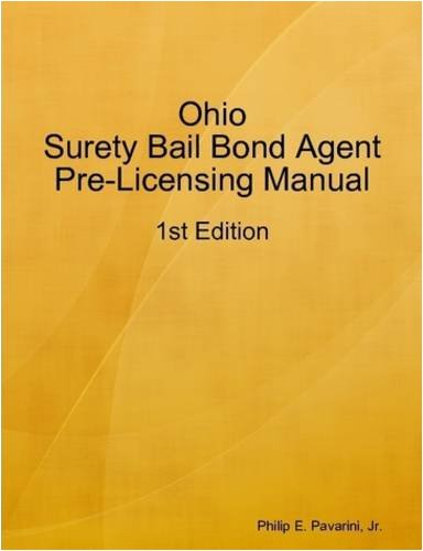 d Agent Pre-Licensing Manual (Surety Bail Bonds)