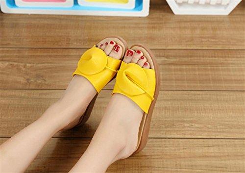 Zapatos resbaladizos de la playa de las señoras de los deslizadores frescos de la manera del verano 3
