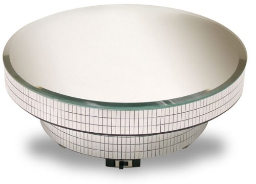 National Artcraft Large Rotating Display Base With Mirror...