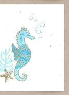 product image for Grow A Note® Seahorse Cards 4-Pack