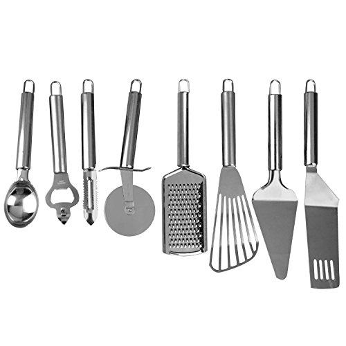 Profesional práctica de acero inoxidable utensilio de cocina Kit conjunto cortador de pizza de la rueda abridor de botella...