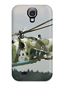 Special Design Back Helicopter Military Man Made Military Phone Case Cover For Galaxy S4