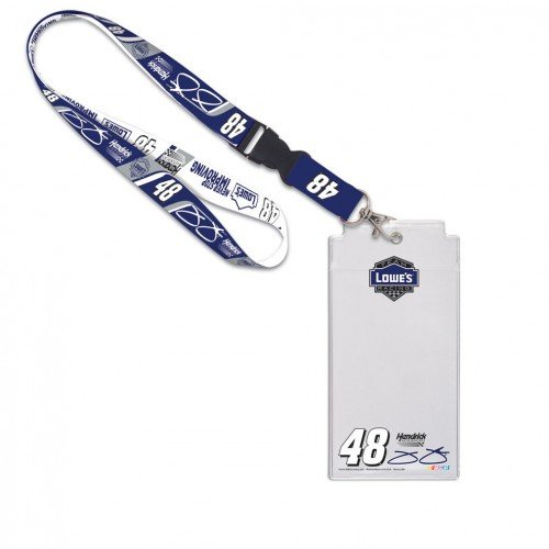 WinCraft Jimmie Johnson 2016 Credential Holder with Lanyard, - Johnson Lanyard Jimmie