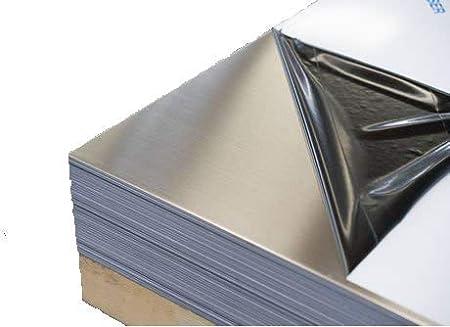 """.125/"""" 1//8/"""" x 6/"""" x 6/"""" Aluminum Plate 5052 Aluminum"""