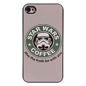 QHY Coffee Design Aluminum Hard Case for iPhone 4/4S