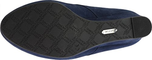 Women's Vionic Navy Elevated Bootie Wedge Becca R6O47dO0q