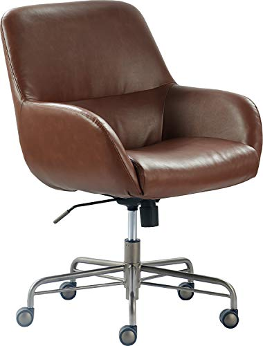 Finch CHR10059B Forester Home Office Chair, Cognac Brown, Cognac Brown