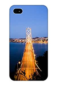 For Case, High Quality San Francisco Bay Bridge For ipod touch 4 Cover Cases / Nice Case For Lovers