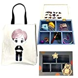 Ring Bearer Wedding Birthday Favors Gift Tote bag Cotton Canvas with Fabulous Trinket Box full of toys favors surprises
