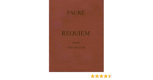 Requiem Op48 Vocal score