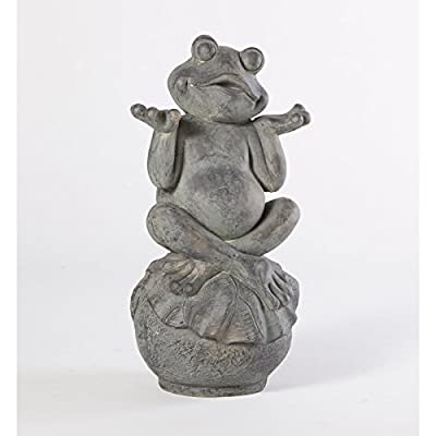 Alfresco Home Care Free Frog Garden Statue : Outdoor Statues : Garden & Outdoor