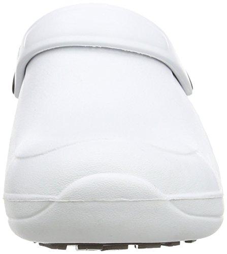Toffeln Eziprotekta - Calzado de protección unisex, Blanco - blanco, 40.5 Blanco - blanco