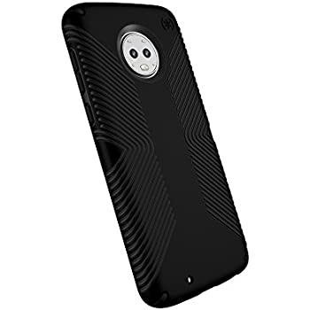 more photos 7e9ad 44c52 Speck Products Compatible Phone Case for Motorola Moto G6, Presidio Grip  Case, Black/Black
